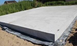 Фундамент плита расчет толщины