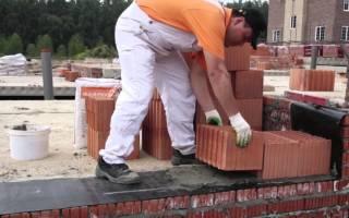 Теплая смесь для кладки керамических блоков