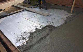 Как правильно бетонировать пол в доме