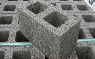Технология производства керамзитобетонных блоков