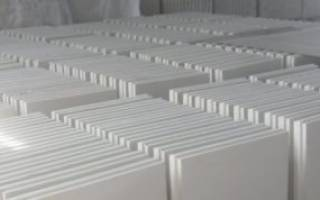 Гипсолитовые плиты размеры