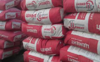 Сколько хранится цемент в мешках