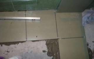 Время высыхания стяжки пола перед укладкой плитки