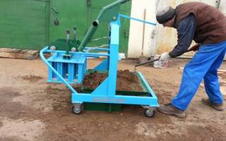 Изготовление блоков в домашних условиях и оборудование