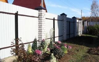 Правила установки забора между соседями в СНТ