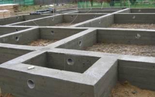 Свайно ростверковый фундамент с монолитной плитой перекрытия