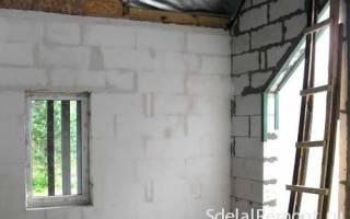 Можно ли штукатурить газобетон цементным раствором