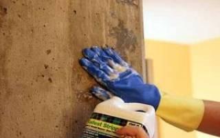 Какой краской красить бетонные стены