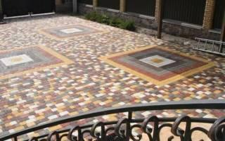 Пропорции бетона для тротуарной плитки