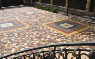 Тротуарная плитка технология изготовления рецептура