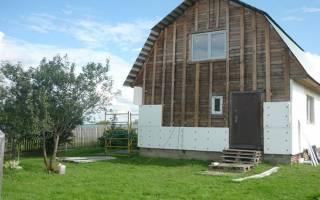 Можно ли обшивать деревянный дом пенопластом