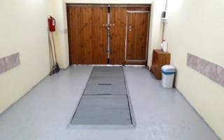 Чем покрасить цементный пол в гараже