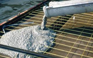 Противоморозная добавка в бетон своими руками
