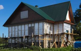 Ветроизоляция для стен деревянного дома