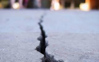 Усадка бетона в процентах