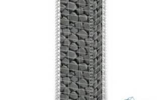 Забор из габионов под ключ