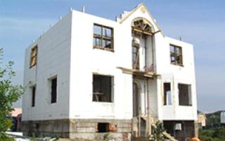 Строительство домов из монолитного железобетона