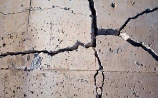Почему крошится бетон