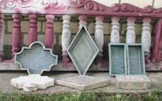Пластиковые формы для бетонных изделий