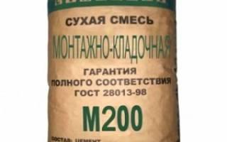 Цемент м200 технические характеристики