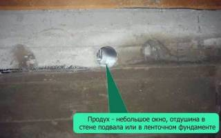 Как правильно сделать отдушины в доме