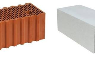 Теплая керамика или газобетон