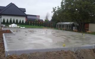 Сушка бетона после заливки