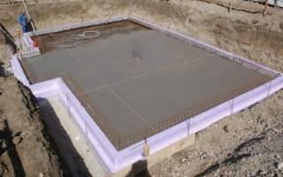 Подбетонка под фундаментную плиту