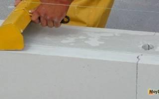 Можно ли класть газобетон на цементный раствор