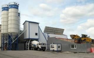 Как делают бетон на заводе