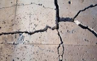 Крошится бетон что делать