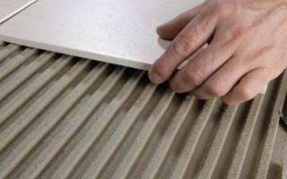 Чем приклеить керамическую плитку к бетону