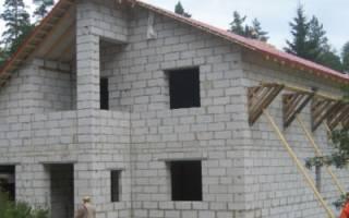 Дом из пеноблоков своими руками пошаговая инструкция