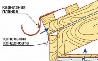 Как правильно установить капельник на крышу