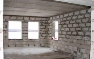 Как шпаклевать стены из газобетона
