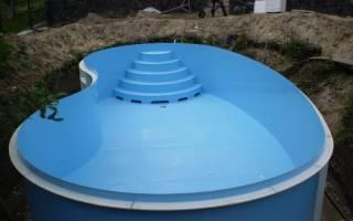 Устройство бассейна в частном доме