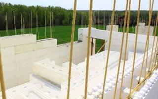 Армирование газобетонных блоков стеклопластиковой арматурой