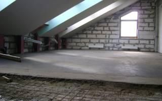 Какую марку бетона использовать для монолитного перекрытия
