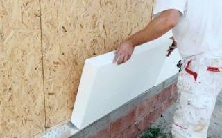 Какая толщина пенопласта для утепления стен снаружи