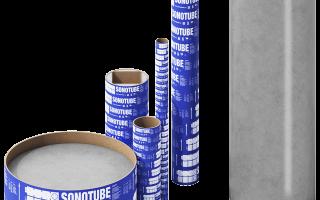 Бумажные трубы для свай