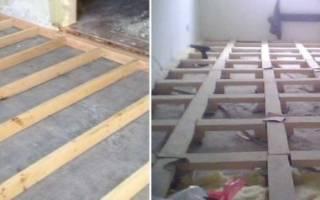 Как прикрепить брусок к бетонной стене