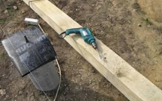Анкер для крепления бруса к бетону