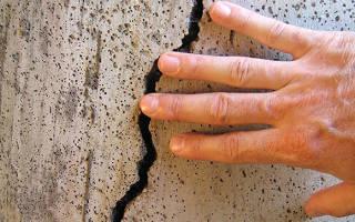Как укрепить дом если он дал трещину
