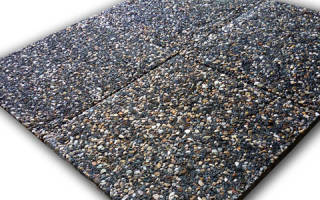 Мытый бетон технология производства