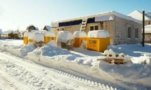 Можно ли строить дом из газобетона зимой