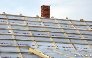 Как правильно положить гидроизоляцию на крышу