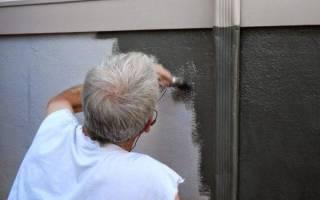 Чем покрасить бетонные стены в гараже