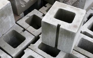 Вентиляционные блоки из керамзитобетона