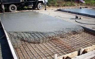 Комбинированный фундамент лента и плита