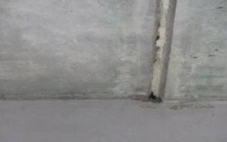 Заделка швов между плитами перекрытия на потолке
